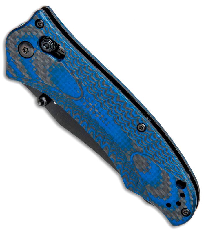 Фото 5 - Складной нож Benchmade 950BK-1801 Rift Limited Edition, сталь CPM-S30V, рукоять G10/карбон