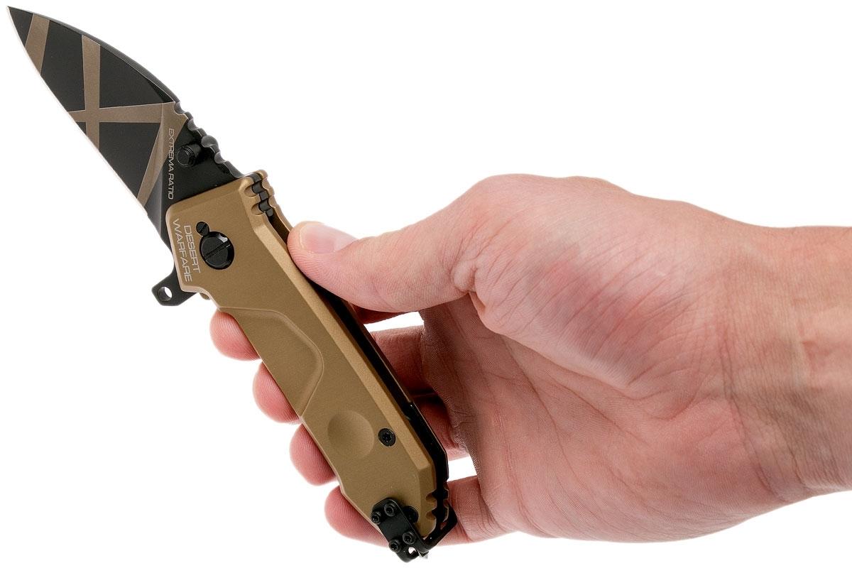 Фото 9 - Складной нож Extrema Ratio MF0 Desert Warfare, сталь N690, рукоять алюминий