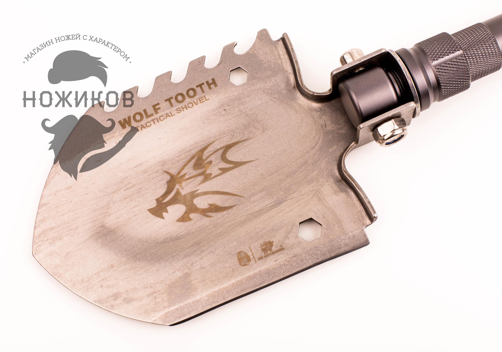 Фото 27 - Многофункциональная лопата для выживания HX Outdoor 19-в-1 от Noname