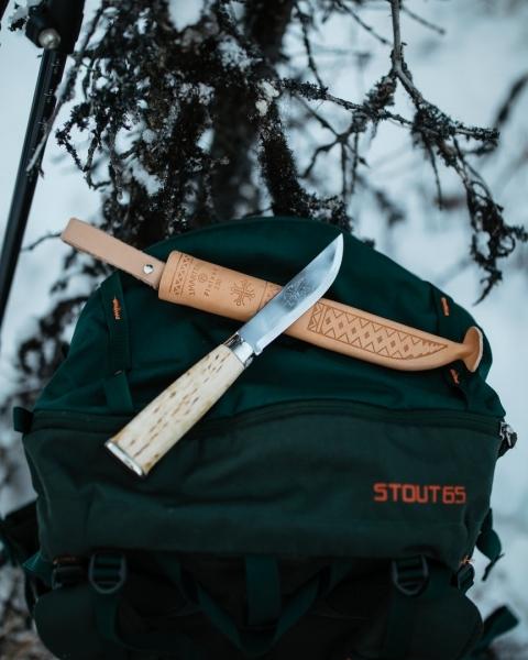 Фото 8 - Нож Marttiini Lapp 230, сталь X55CrMo14, рукоять карельская береза