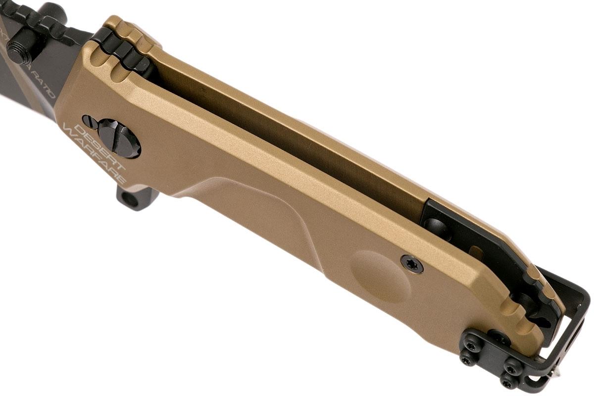 Фото 10 - Складной нож Extrema Ratio MF0 Desert Warfare, сталь N690, рукоять алюминий