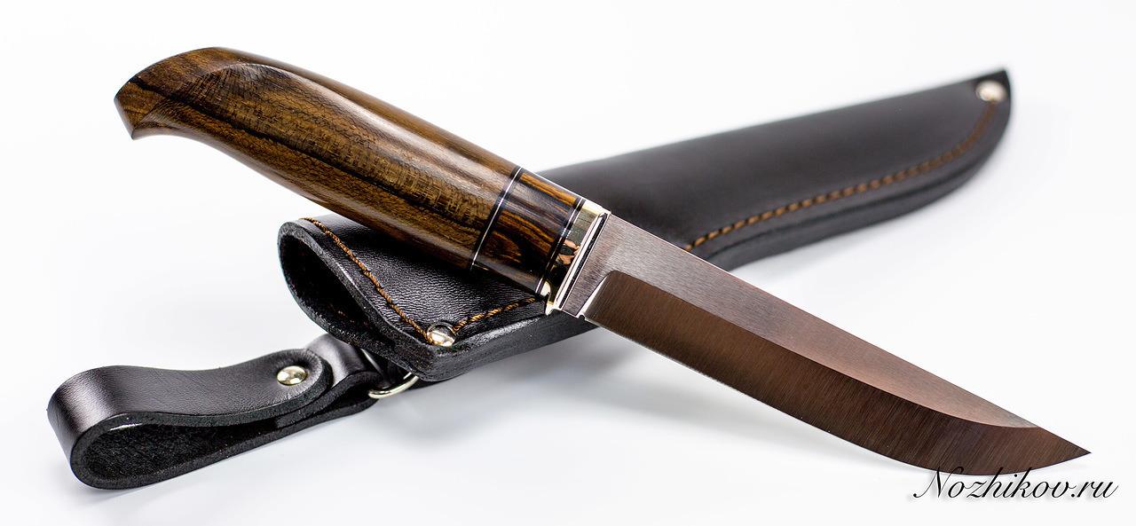 Нож финка N42 из порошковой стали Bohler M390