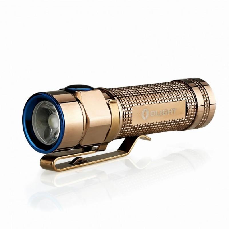 Фото - Фонарь Olight S1A-CU Rose Gold золотой оптика