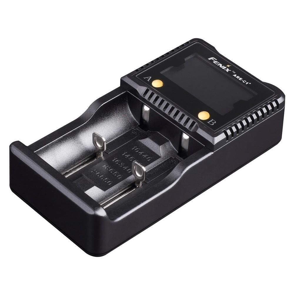 Зарядное устройство 26650, 18650, 16340, 14500, 10440 Fenix ARE-C1+ стоимость
