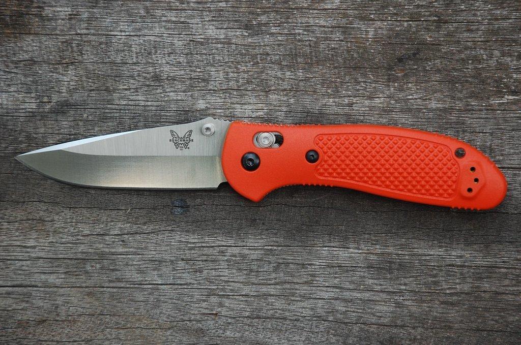 Фото 8 - Складной нож Benchmade Griptilian 551-ORG, сталь 154CM, рукоять пластик