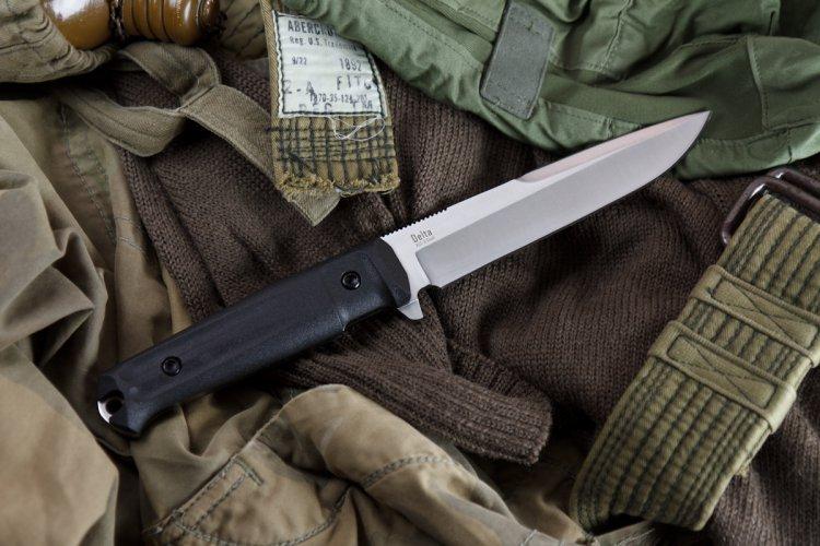 Купить Тактический нож Delta AUS-8 Satin+SW, Кизляр от Kizlyar Supreme в России