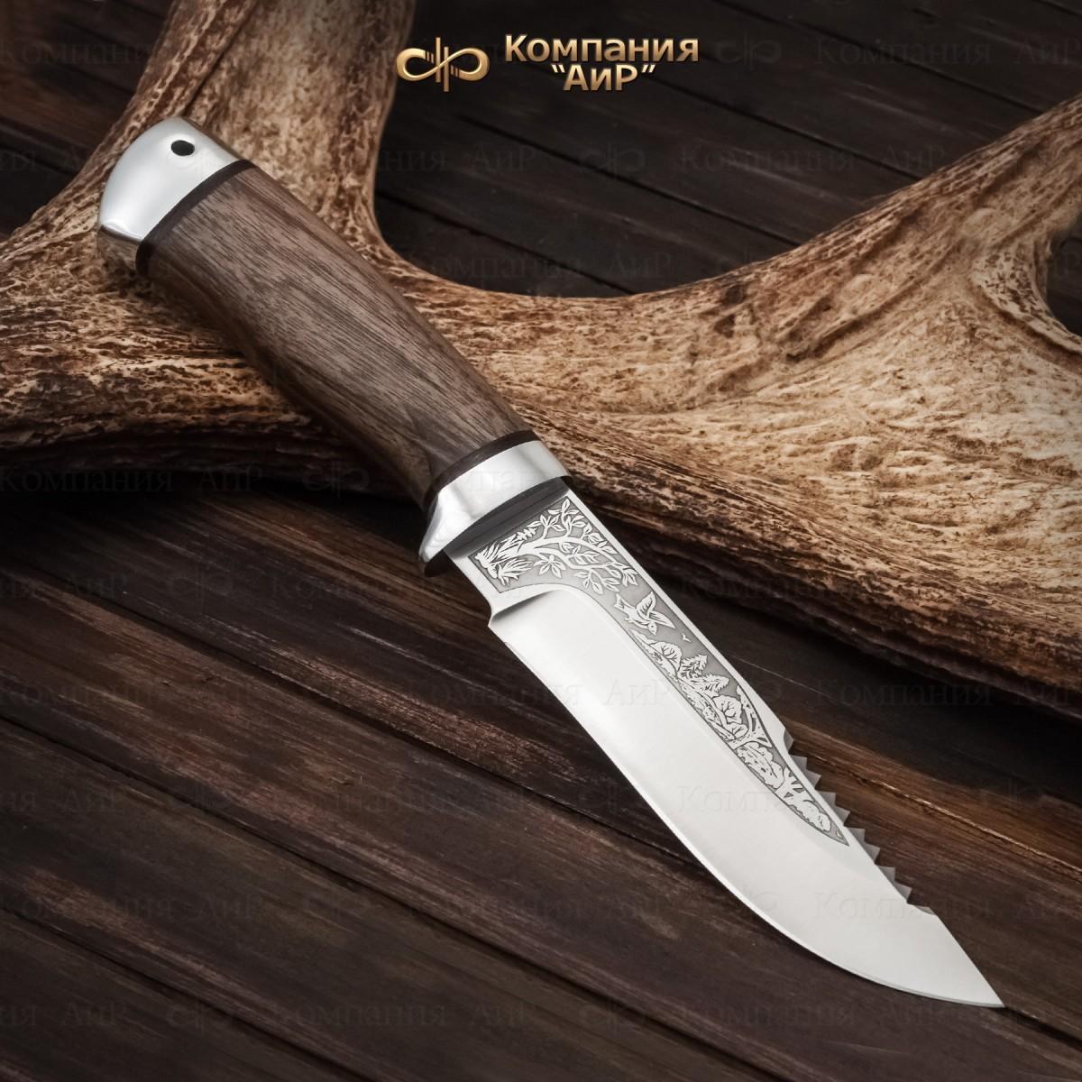 Нож АиР Стрелец, сталь К-340, рукоять дерево
