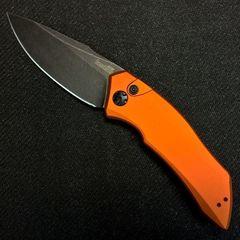 Нож складной Kershaw Launch 1, сталь CPM-154, оранжевый
