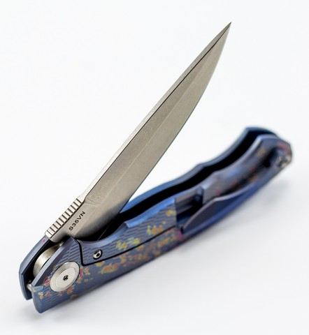 Складной нож Чикоординал Анод  Stonewashed - Nozhikov.ru