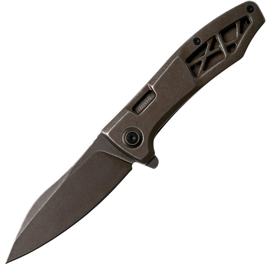 Нож складной Kershaw Les George Design Boilermaker Flipper