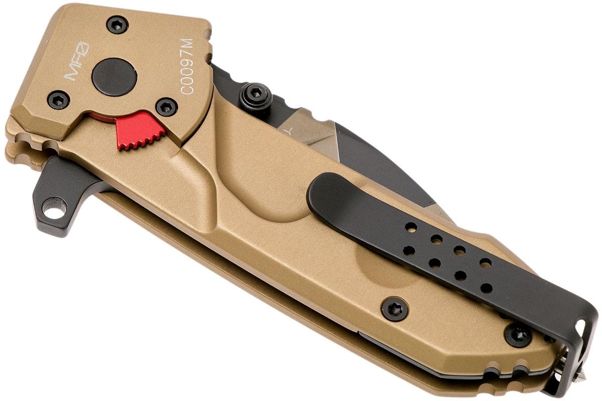 Фото 13 - Складной нож Extrema Ratio MF0 Desert Warfare, сталь N690, рукоять алюминий