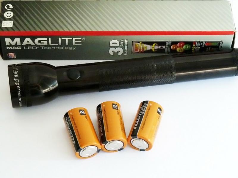 Фото 6 - Фонарь Mag-Lite 3D LED ST3DMR6E