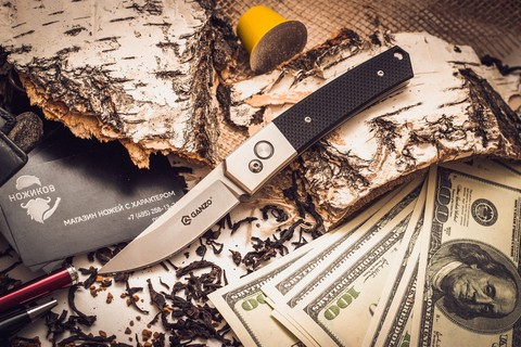 Складной нож Ganzo G7361, черный - Nozhikov.ru