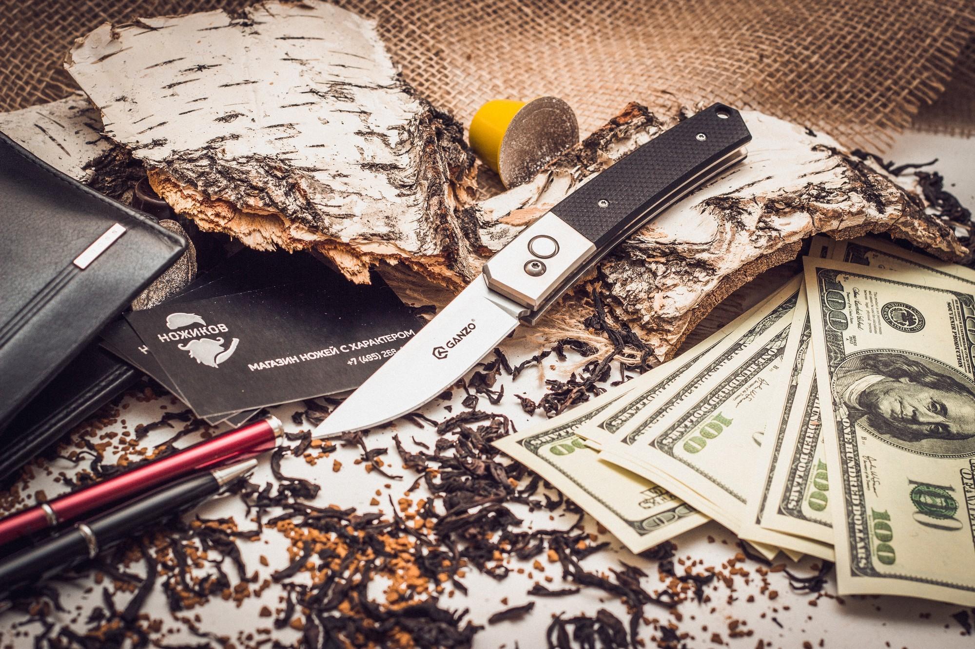 Фото 5 - Складной нож Ganzo G7361, черный