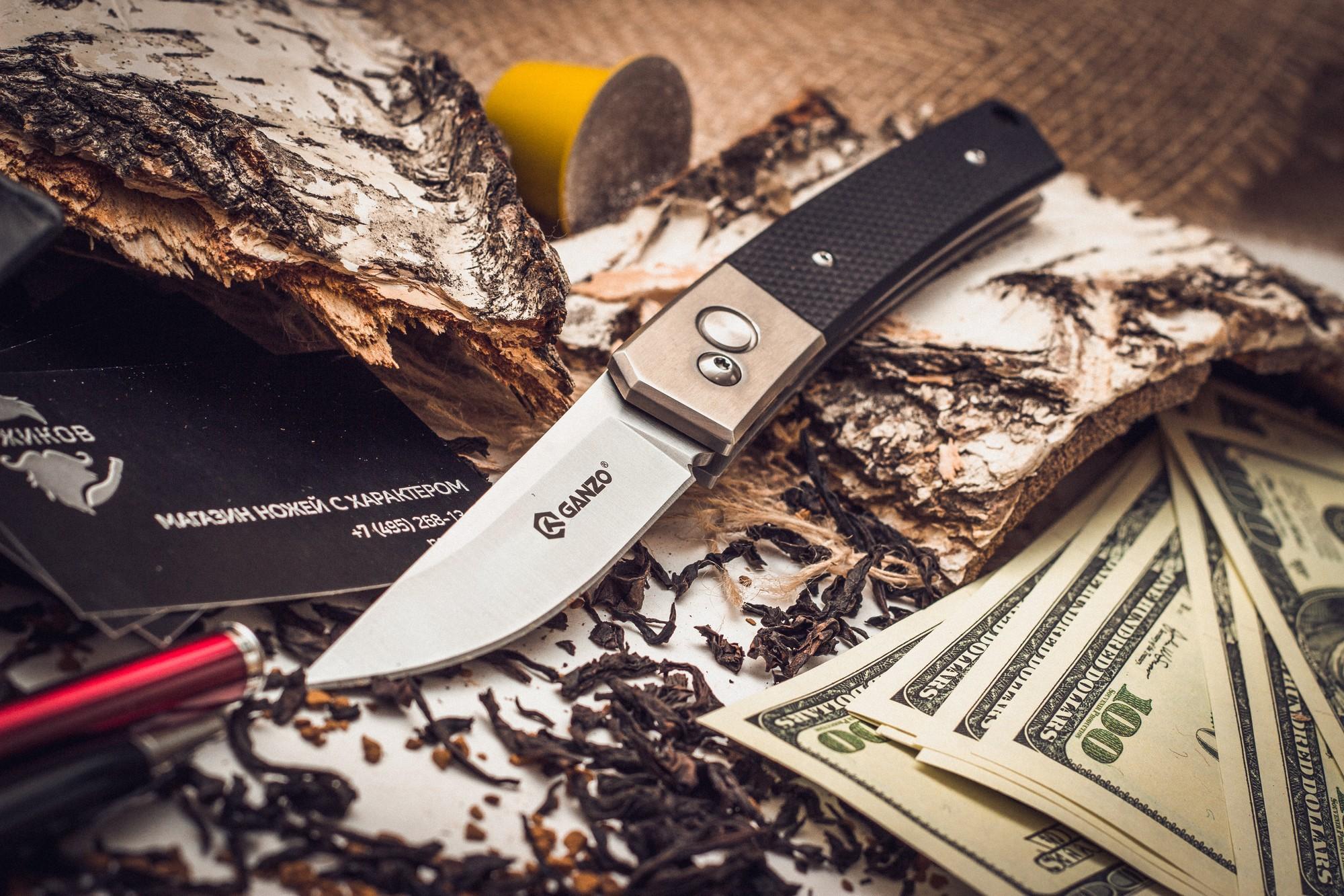 Фото 6 - Складной нож Ganzo G7361, черный