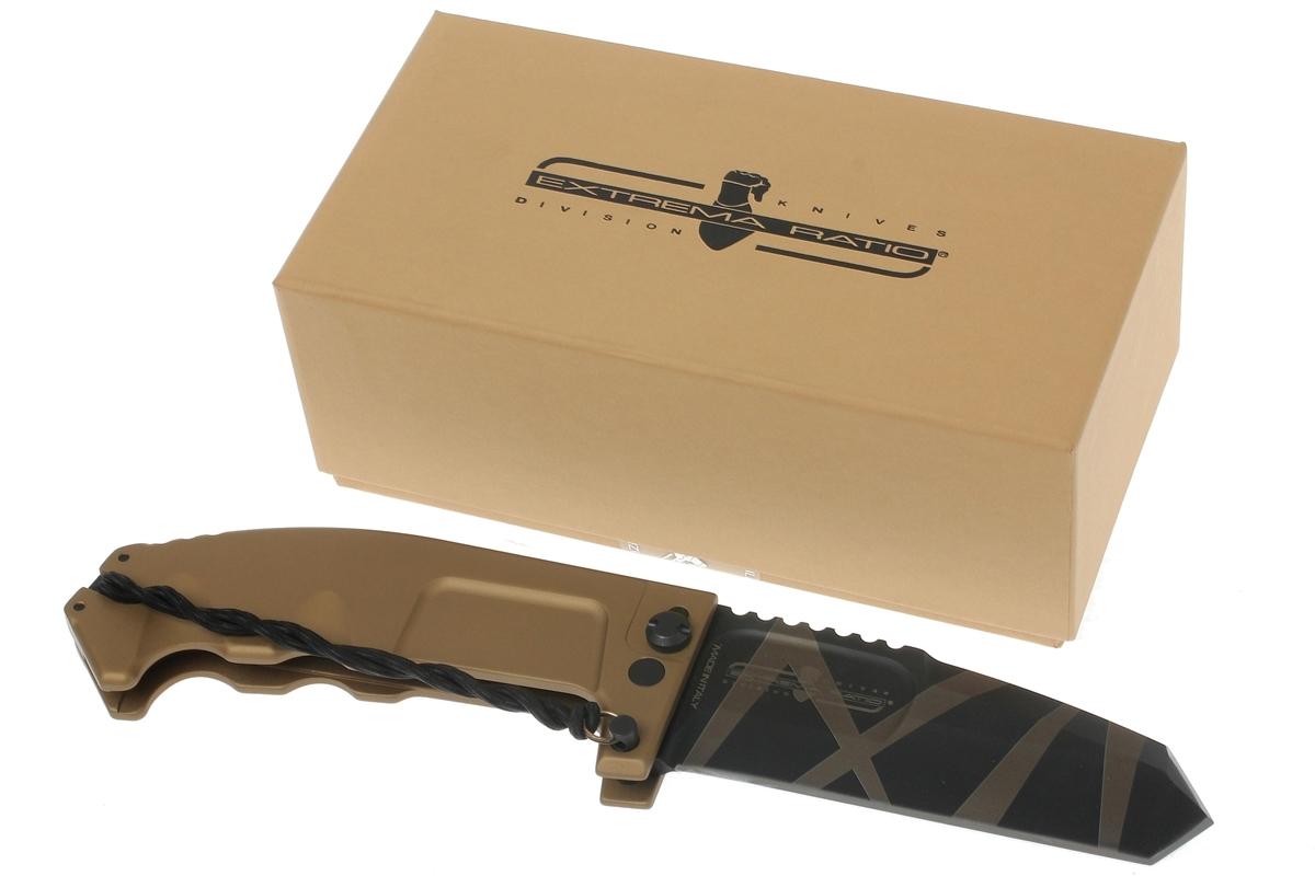 Фото 5 - Складной нож Extrema Ratio RAO Desert Warfare, сталь Bhler N690, алюминий
