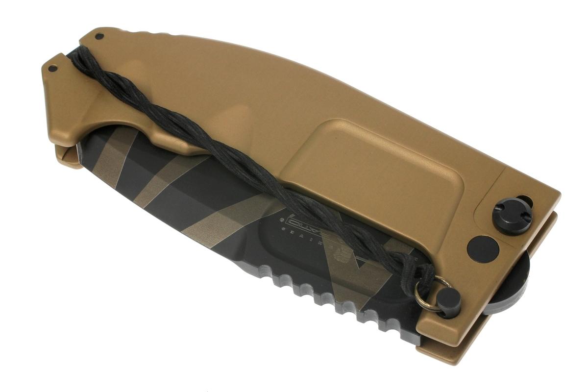 Фото 11 - Складной нож Extrema Ratio RAO Desert Warfare, сталь Bhler N690, алюминий