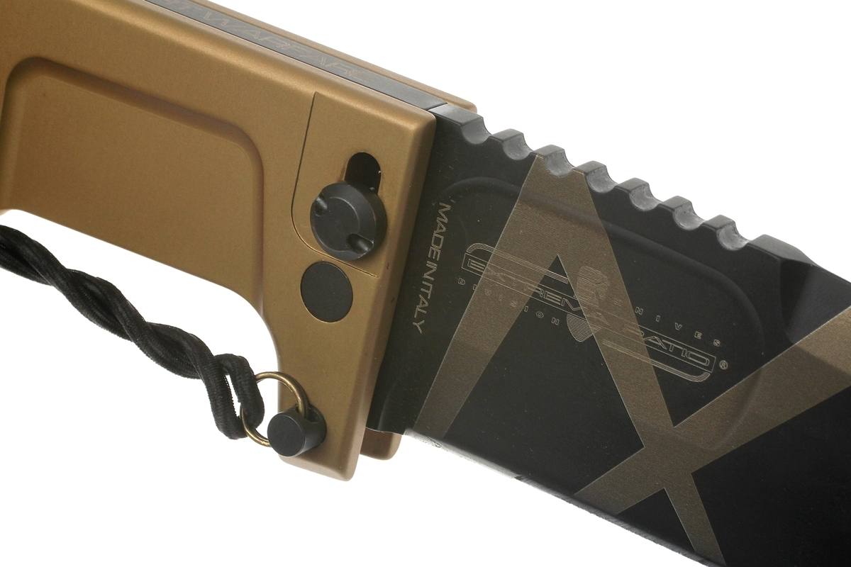 Фото 12 - Складной нож Extrema Ratio RAO Desert Warfare, сталь Bhler N690, алюминий