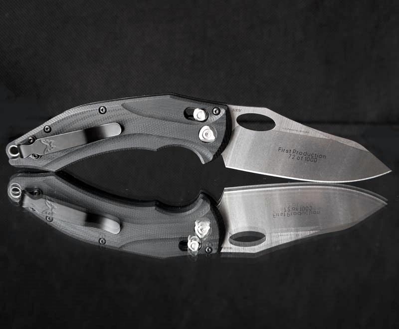 Фото 12 - Нож складной Benchmade 808 Loco, сталь CPM S30V, рукоять G-10