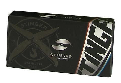 Нож складной Stinger SA-574B, сталь 420, алюминий. Вид 2