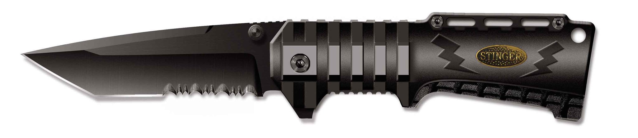 Нож складной Stinger SA-574B, сталь 420, алюминий нож складной stinger sa 574b сталь 420 алюминий