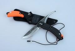 Нож Ganzo G802 с двумя клинками, черный