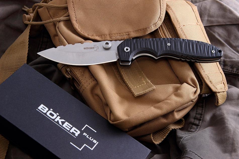 Фото 14 - Складной нож Boker Plus Sulaco 01BO019, сталь 440C, рукоять G-10
