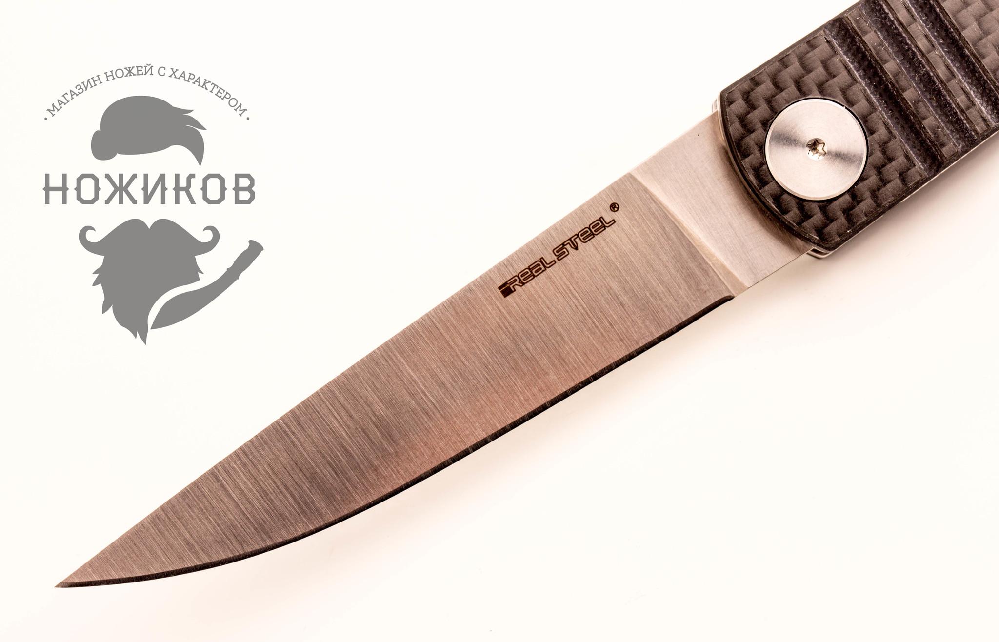 Фото 12 - Складной нож Ippon, carbon от Realsteel