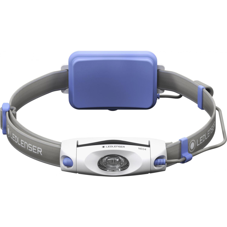 Фонарь светодиодный налобный LED Lenser NEO4 синий, 240 лм., 3-ААА фонарь светодиодный налобный led lenser neo6r синий 240 лм аккумулятор
