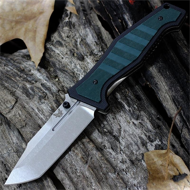 Фото 5 - Нож складной Benchmade 757 Vicar, сталь CPM-S30V, рукоять G-10/титан