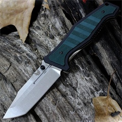 Нож складной Benchmade 757 Vicar, сталь CPM-S30V, рукоять G-10/титан, фото 4
