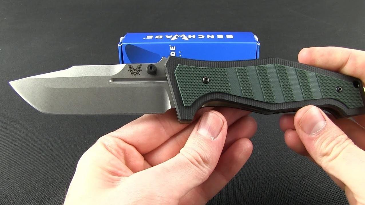Фото 6 - Нож складной Benchmade 757 Vicar, сталь CPM-S30V, рукоять G-10/титан