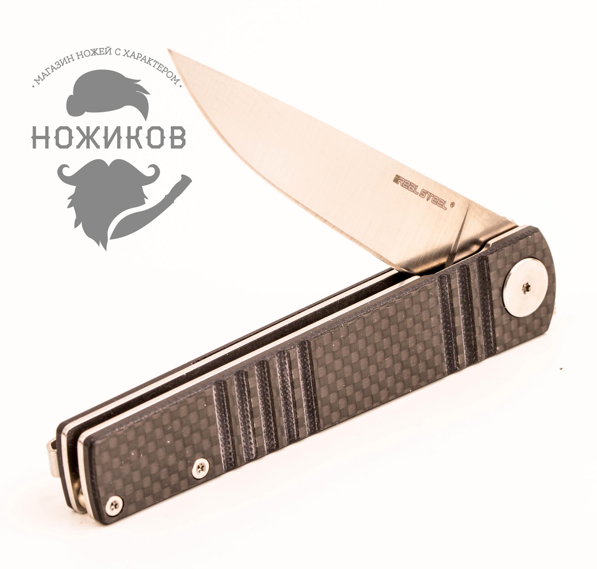 Фото 13 - Складной нож Ippon, carbon от Realsteel