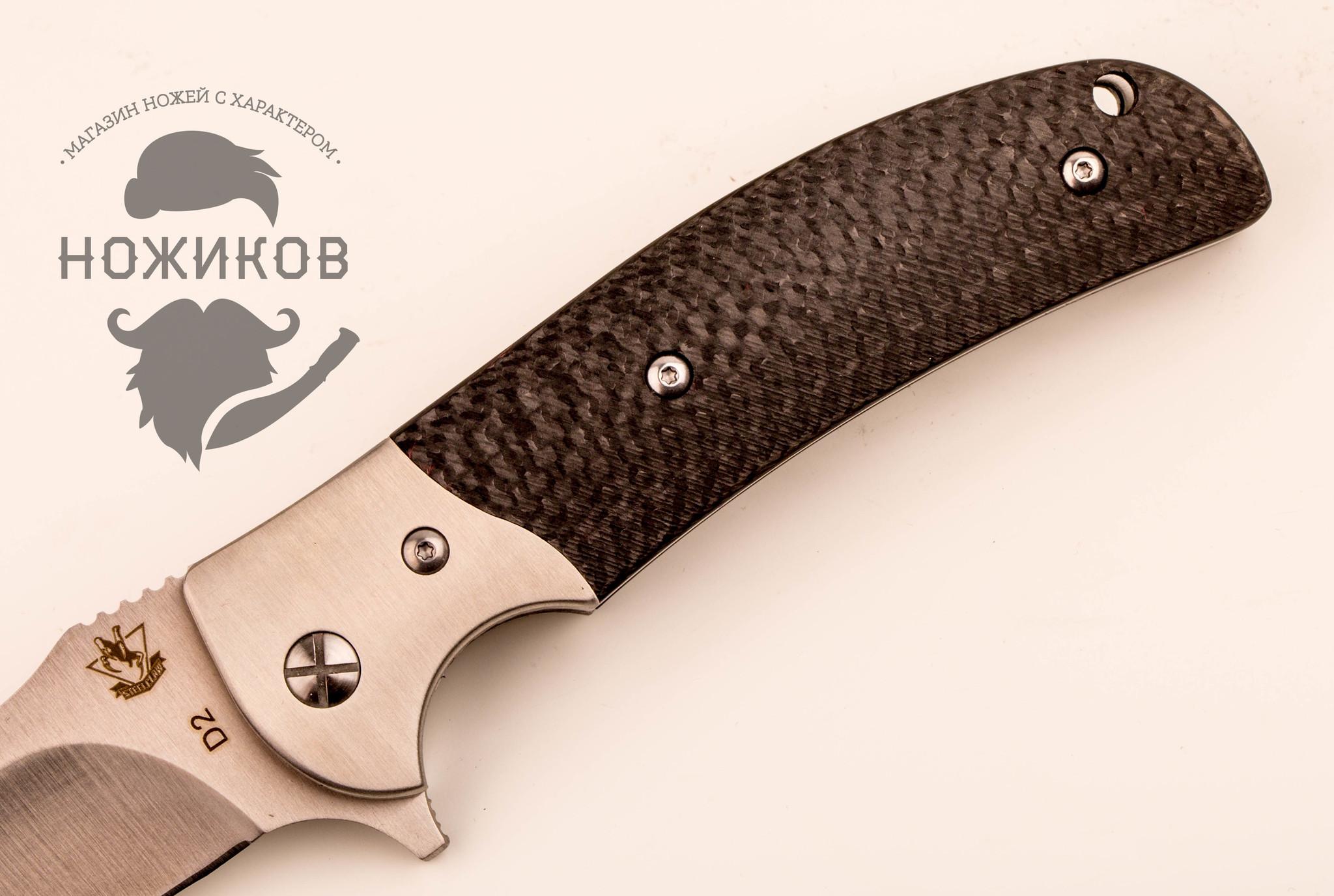 Фото 23 - Складной нож Резервист, карбон от Steelclaw
