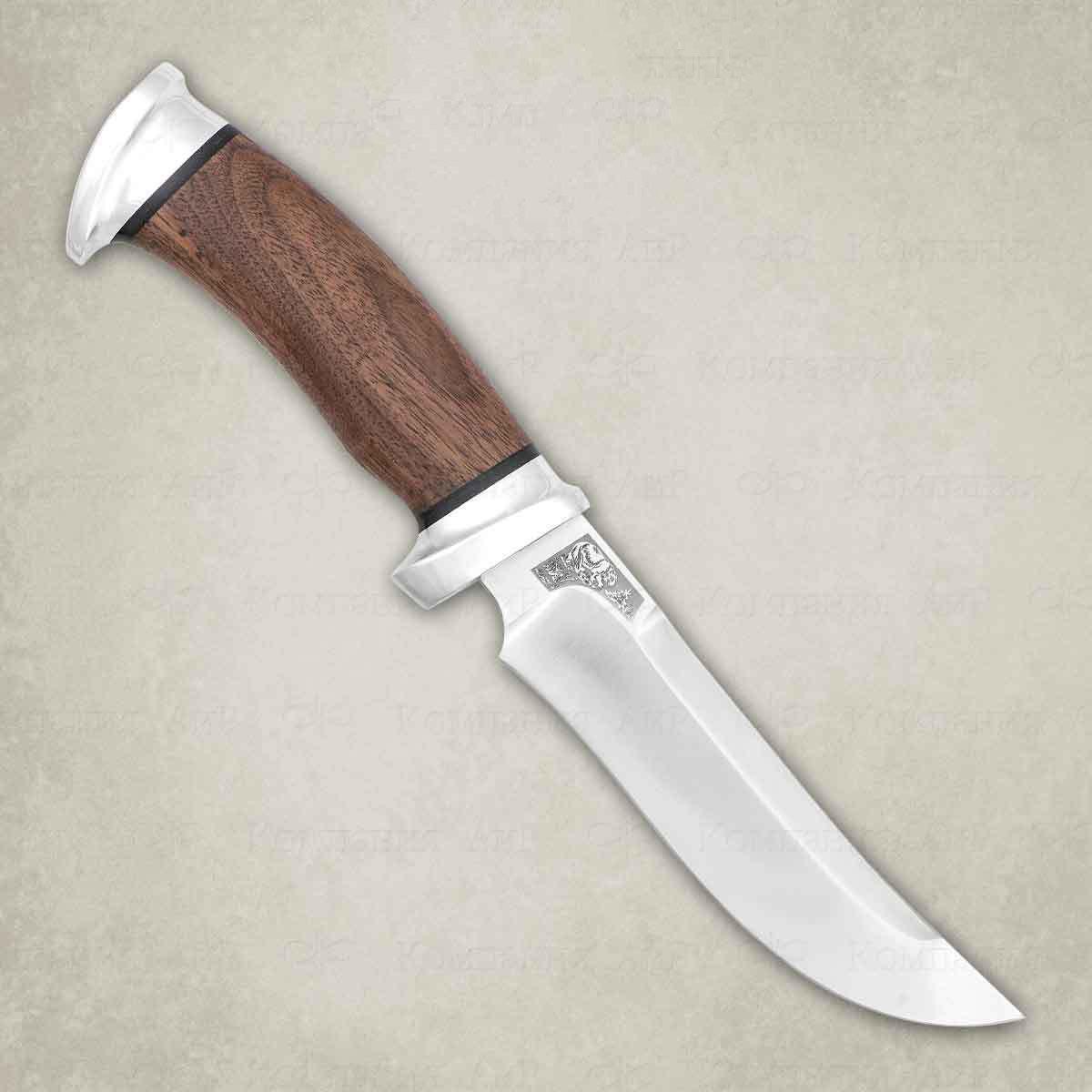 Нож разделочный АиР Росомаха, сталь Elmax, рукоять дерево