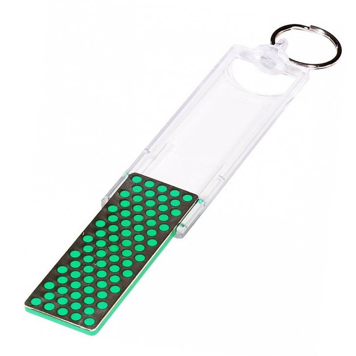 Фото 5 - Карманная точилка - брелок DMT® Extra-Fine, 1200 mesh, 9 micron от DMT® Diamond Machining Technology