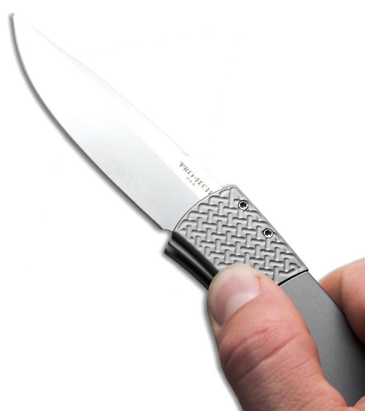 Фото 12 - Автоматический складной нож Pro-Tech BR-1.10, сталь 154CM, рукоять алюминий