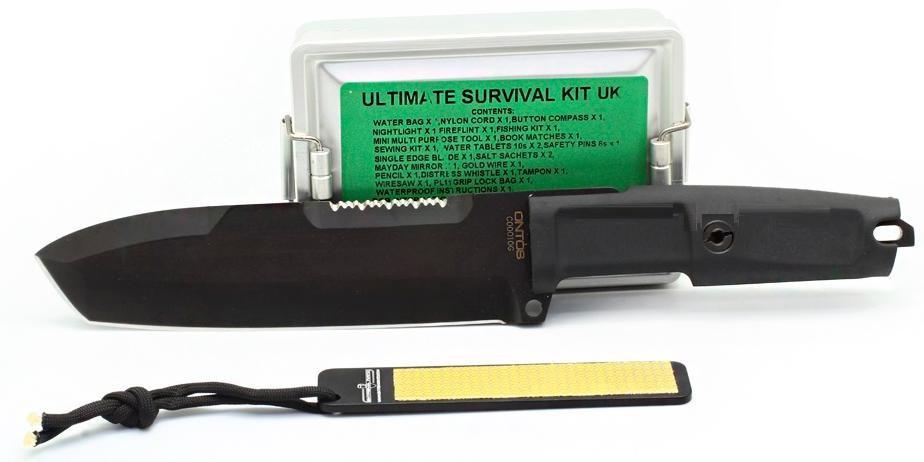 Нож с фиксированным клинком Ontos, Black Sheath от Extrema Ratio