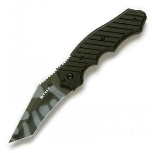Фото 9 - Складной нож CRKT 1030TS Triumph, сталь AUS-8 Tiger Stripe, рукоять стеклотекстолит G10