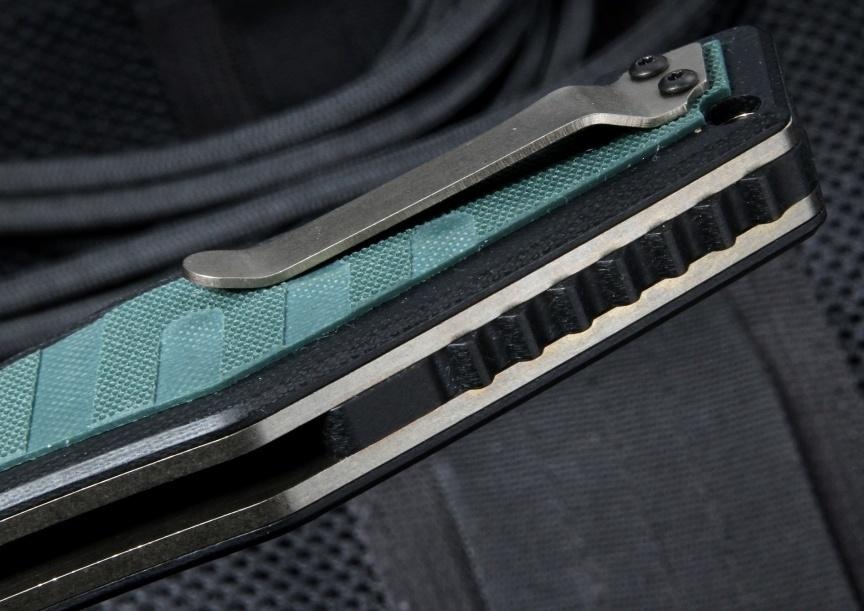 Фото 10 - Нож складной Benchmade 757 Vicar, сталь CPM-S30V, рукоять G-10/титан