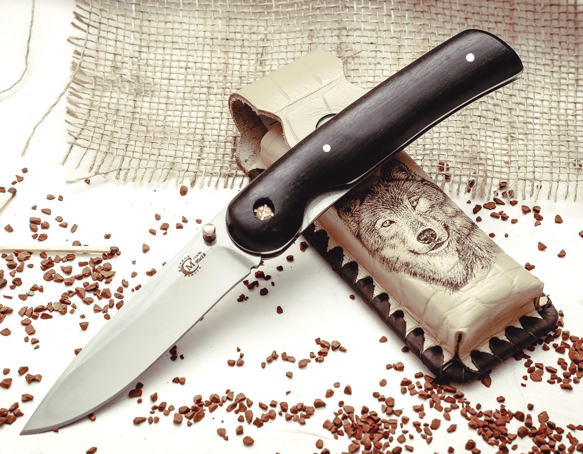 Складной нож «Амур» из нержавеющей стали 95Х18, Ворсма отличное качество плодов нож лезвие нержавеющей стали марки xyj высокой твердости 3 5 из нержавеющей стали обрезать кухонный н