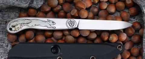 Нож Белка Fixed (Belka), сталь AUS-8. Вид 7