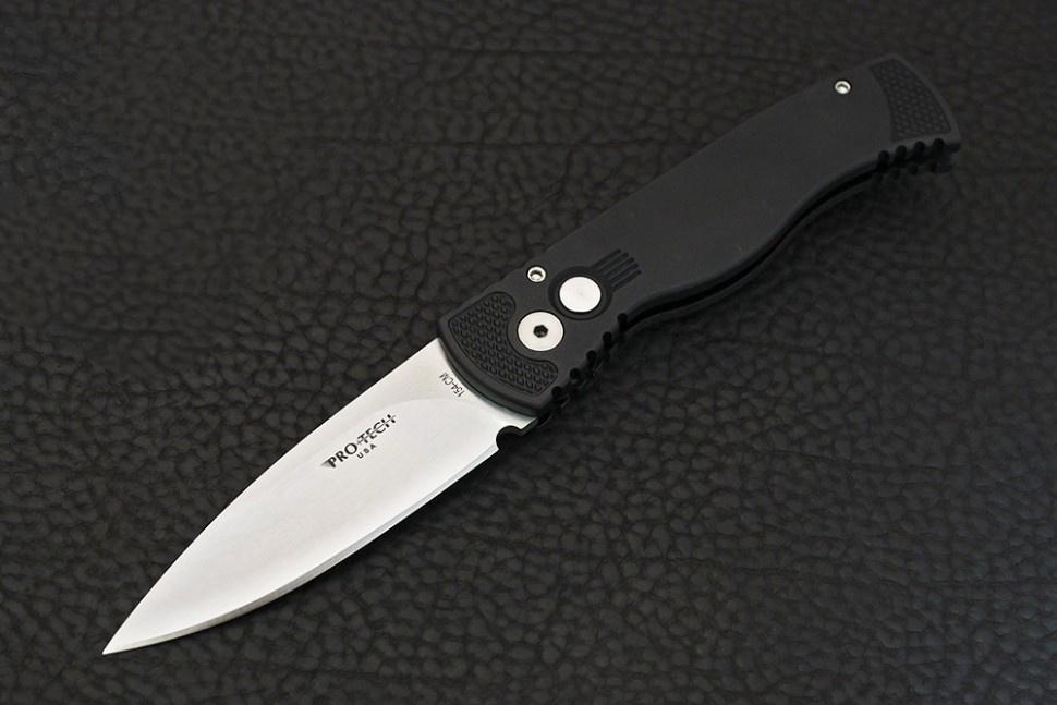 Фото 12 - Автоматический складной нож Pro-Tech TR-2.3SF – Tactical Response 2, сталь 154CM Satin, рукоять алюминий