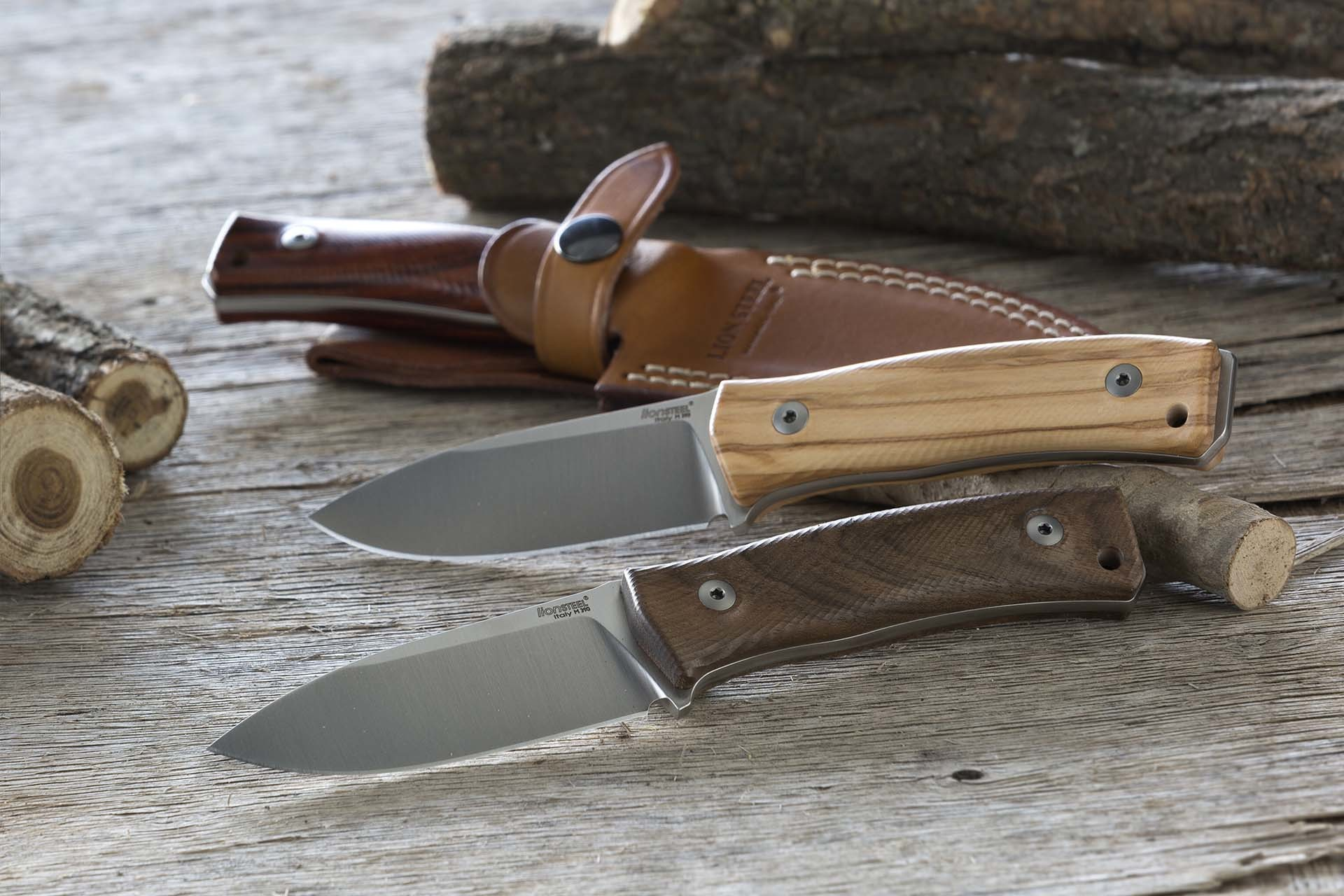 Фото 10 - Нож Lionsteel M4 WN, сталь Bhler M390, рукоять ореховое дерево от Lion Steel
