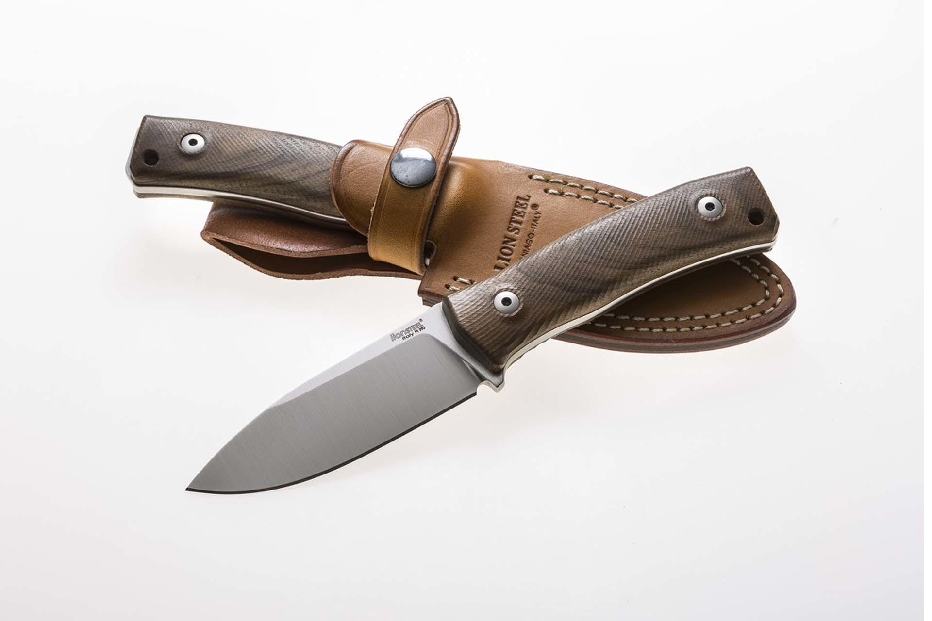 Фото 4 - Нож Lionsteel M4 WN, сталь Bhler M390, рукоять ореховое дерево от Lion Steel