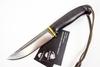 Нож Лиман, сталь D2, черный граб, следы ковки - Nozhikov.ru