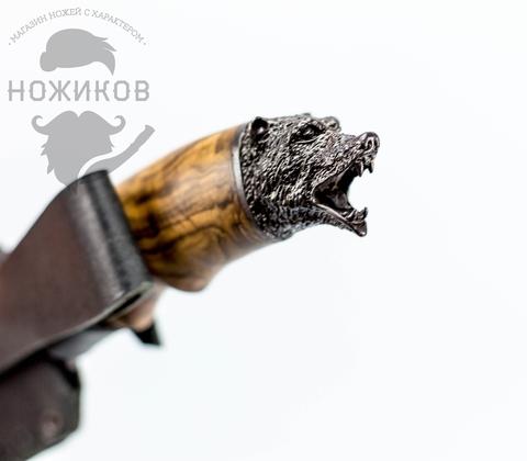 Авторский Нож из Дамаска №63, Кизляр. Вид 5