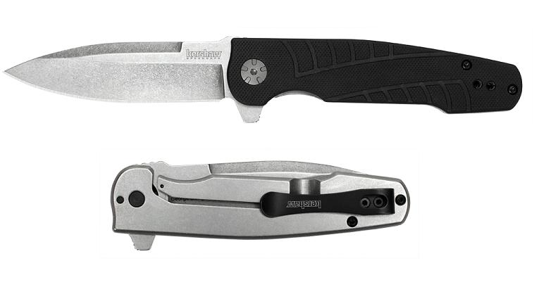 Фото 13 - Складной полуавтоматический нож Kershaw Westin K3460, сталь 8Cr13MoV, рукоять сталь/пластик