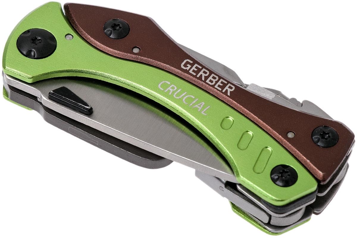 Фото 13 - Мультитул Gerber Crucial Tool Green, зеленый, в блистере