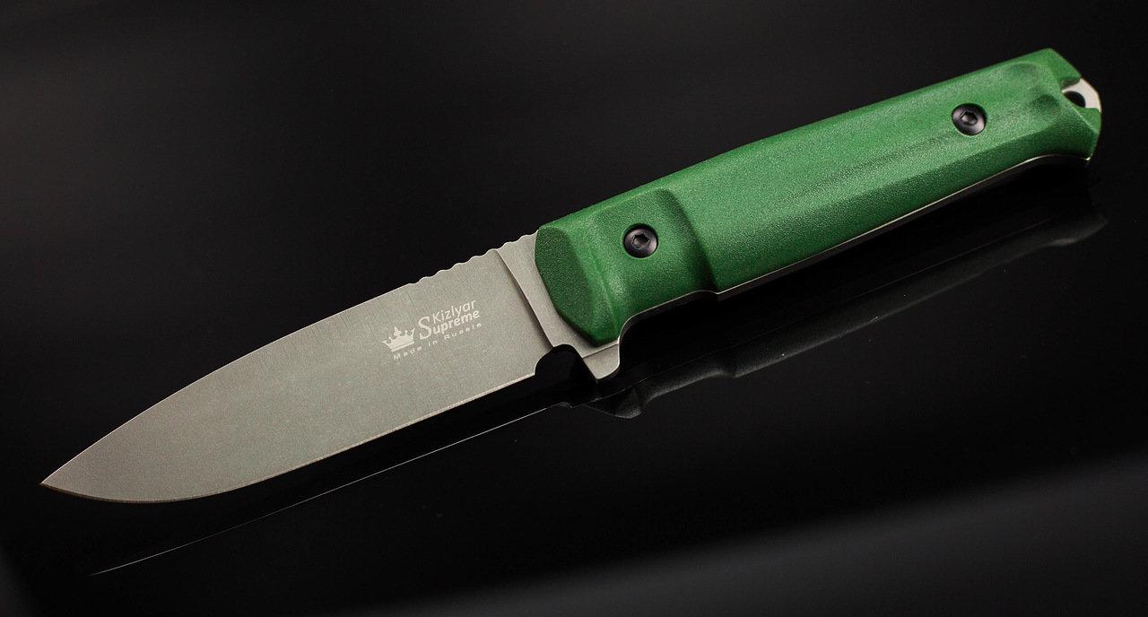 Фото 12 - Тактический нож Sturm PGK DSW олива, Кизляр от Kizlyar Supreme